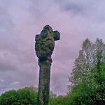 Gälisches Kreuz mit Pietá