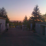Monte Gozo morgens um 06.00