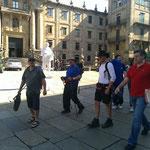 Die Müllers reiten in Santiago ein