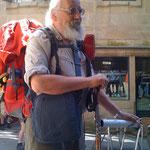 Der 80jährige Rauschebart - ein regelmässiger Pilger