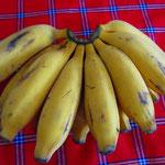 ミニバナナもおいしいです!