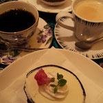 デザートはココナッツアイスクリームとコーヒーor紅茶