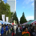 横浜国際フェスティバル やっと晴れました!