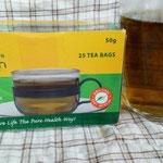 ティーバッグのネトル茶