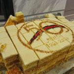 ケニア独立50周年記念ケーキ
