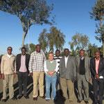 2015年8月 Githongo製茶工場スタッフ・農家代表と