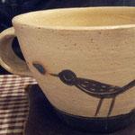 茶器がかわいい♪