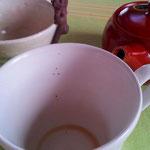 カップに出てしまった茶葉は、これだけです