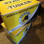 ケニアのタスカービールもあります!