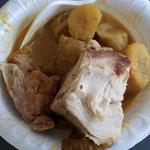 マトケとピーナッツソース+鶏肉