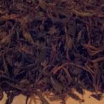 1回目のグループの発酵中の葉