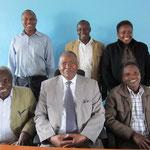 左上:ムワンギ氏、ムガンビ氏、マケナ氏 左下:ンテーレ氏、ムレイディ氏、ムンガニア氏