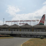 モンバサにあるモイ国際空港