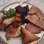 ケニア料理もいただきました!