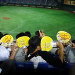 野球部ボーイズとあきこ(プライバシー保護のため顔を隠しております♡)