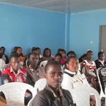 セミナーに参加した学生たち