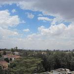 雲の合間の青空がキレイ!