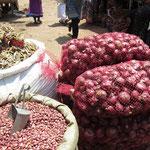紫玉ねぎと金時豆