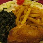 メルーのチキン&チップスは間違いナシ!