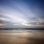 Die Ostseeküste am Abend.
