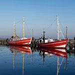 Fischerboote am Alten Strom.
