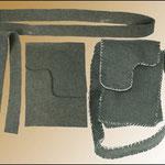 Feltro Naturale - Kit borsa con tracolla, 25x19cm  Feltro Naturale - Kit borsa con tracolla, 25x19cm prezzo: € 12,00
