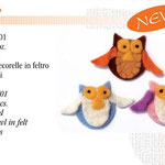 CONF. 3 GUFI IN FELTRO EURO:2,90