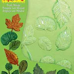 1866 1057 Push Molds  Leaves / foglie 17,5 x 14 cm EURO: 5,95