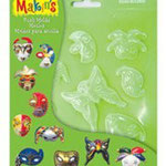 1866 1110 Push Molds Maske / Mask / Masques,17,5 x 14 cm EURO: 5,95