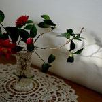 お正月のお花を活ける