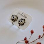 earring「daisy-jasper/pearl-」別写真