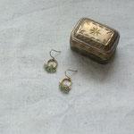 pierce「sha・ra・ra -green&grey-」別写真