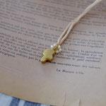 ribbon necklace「ささやかな祈り」別写真
