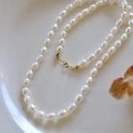 necklace「petit bonheur -oeufs et pois-」別写真
