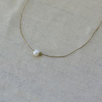 necklace「卵と星屑 -green-」別写真