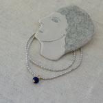 necklace「青い目をした白猫のための首飾り」別写真