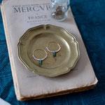 hoop pierce「ある霧の朝、草木の露に触れる」別写真