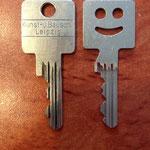 Schlüssel nachmachen lassen KuBau Kunst und Bauschlosserei Wiedebachstraße Leipzig