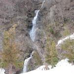 岩原スキー場 春の滝