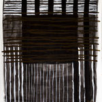 Black Power, 2016. Acryl-Cellulose auf Papier. 120 x 100 cm.