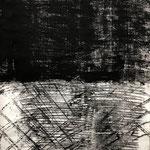 Das Tor, 2020. Acryl-Cellulose auf Papier. 110 x 70 cm.