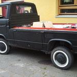 VW T3 Pritsche, Weißwandringe