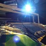 Beamer über Cockpit