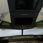 Overheadpanel als Touch vor dem Umbau...