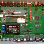 Controller for surge voltage suppressor of DC high power switch