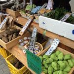自分達の育てたものばかりでなく、協力している全国の生産者からも野菜が集まる。