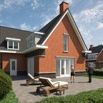 4 woningen Rijswijk, in uitvoering