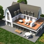 villa Wassenaar, bouw is gestart