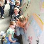 Der Malwettbewerb für die Grundschulkinder