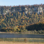 les lacs à l'automne